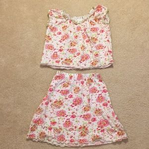 Baby Nay skirt and top outfit size 6X